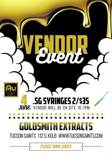 Goldsmith Extracts Vendor Event June 2021