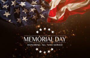 memorial day 2021 SAINTS Dispensary