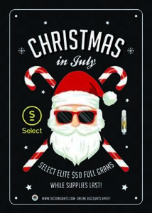SELECT Christmas in July