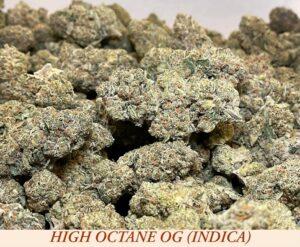 indica High Octane OG dispensary weed