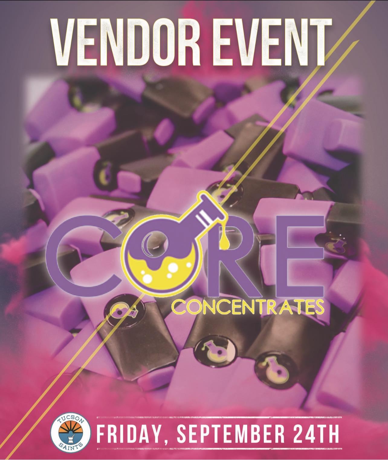 CORE pods vendor event Friday Sept 24 2021