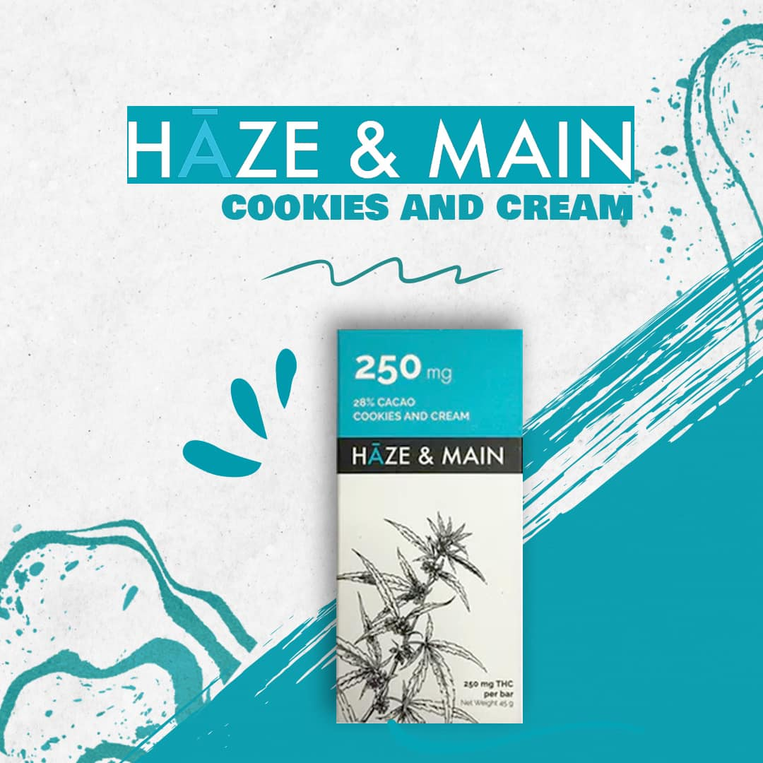 Haze and Main cookies and cream 2021