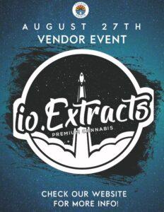 io Extracts vendor Event August 27 2021